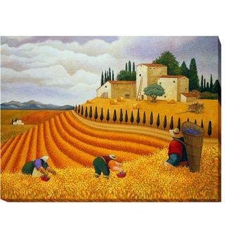 Village Harvest by Lowell Herrero Gallery-Wrapped Canvas Giclee Art