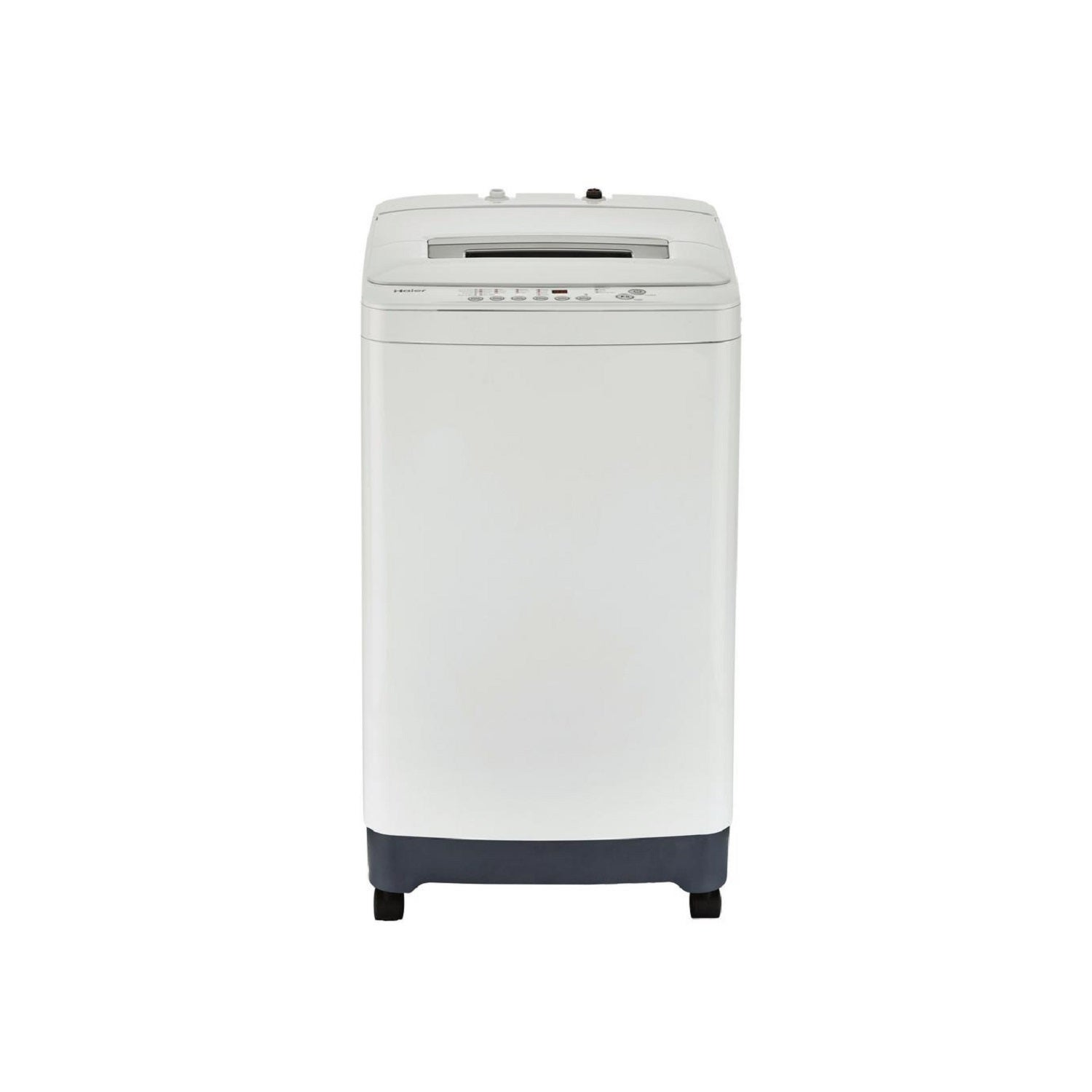 Haier 2.1 Cu. Ft. Portable Compact Washer, Silver stainle...