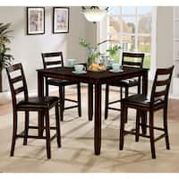 Oliver & James Marold 5-piece Leatherette Counter Height Dining Set