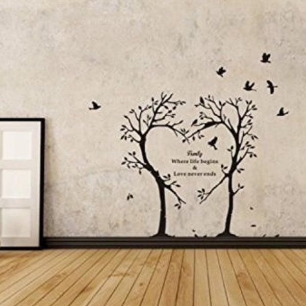 Shop Family Tree Wall Decal Mural Sticker Wall Vinyl On Sale