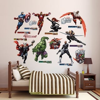 Fathead Avengers Assemble Collection Real Big Wall Decal Wall Vinyl