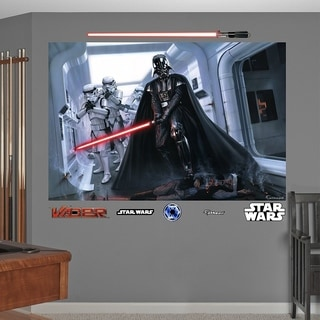 Fathead Darth Vader and Stormtroopers Fallen Rebel Mural Graphic Wall Vinyl