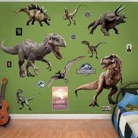 Fathead Jurassic World Dinosaurs Collection Real Decals Wall Vinyl