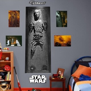 Fathead Star Wars Han Solo In Carbonite Decal Wall Vinyl
