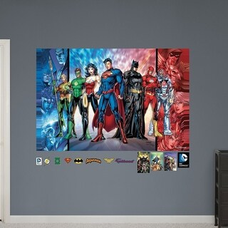Fathead Justice League Mural Wall Vinyl Decals