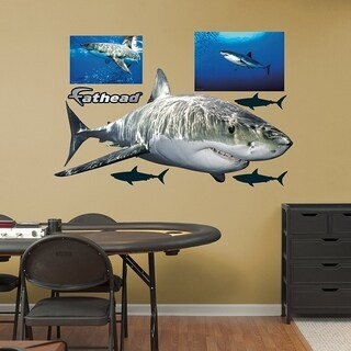 Fathead Great White Shark Real Big Decors Wall Vinyl