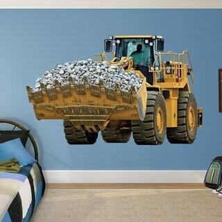 "Fathead Wall Decal, Real Big, ""CAT 988H Wheel Loader"" Wall Vinyl"