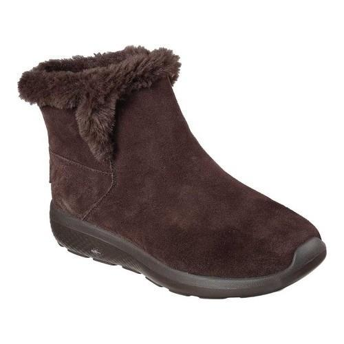 79828cf719f1 Shop Women s Skechers On the GO City 2 Bundle Ankle Boot Chocolate - Free  Shipping On Orders Over  45 - Overstock - 17747330