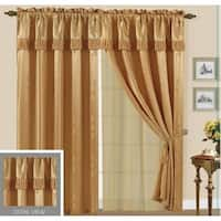 Luxury Sheered Lida Curtain and Valance 84-inch