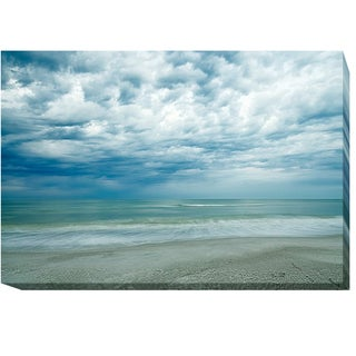Morning at the Beach by Chuck Burdick Gallery-Wrapped Canvas Giclee Art