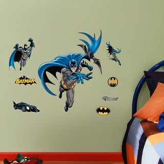 "FATHEAD Batman in Action Fathead Jr. Graphic Decor 2'3""W x 2'11""H Wall Vinyl"