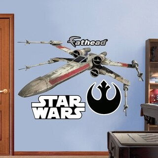 Fathead Star Wars x Wing Fighter Decal Wall Vinyl
