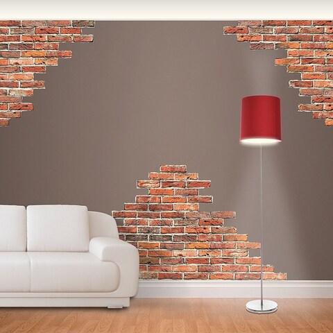 Fathead Horizontal Brick Wall Accents Wall Decal Wall Vinyl