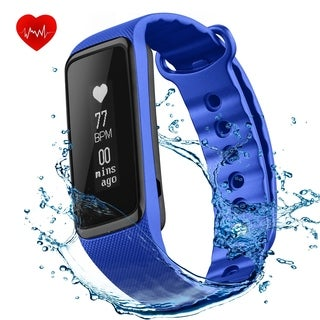 IP68 Waterproof Activity Tracker for iPhone iOS Android Smartphones