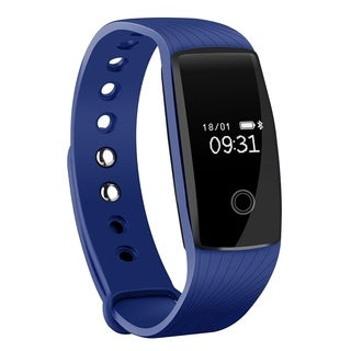 Heart Rate Monitor Smart Fitness Bracelet Health Tracker Activity Wristband Pedometer for Android and iOS Smart Phones