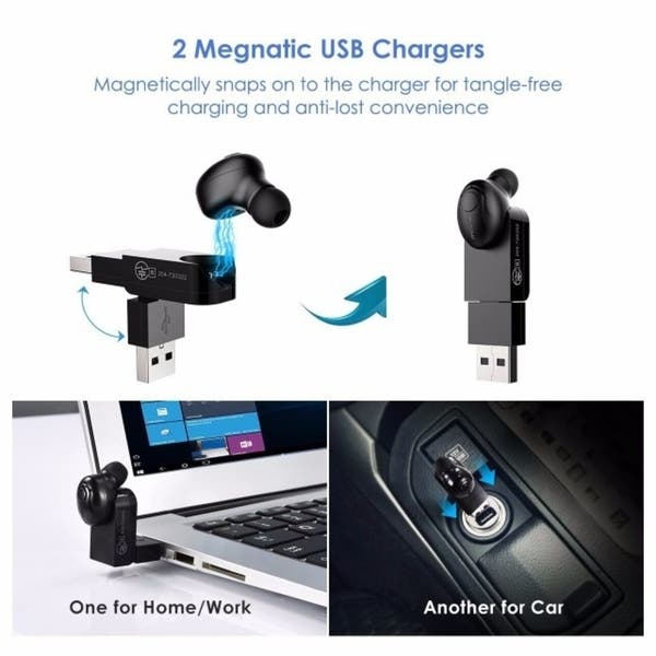 4297629921d Mpow Bluetooth Headphone, Wireless Mini Invisible Earpiece, In-ear  Bluetooth V4.1