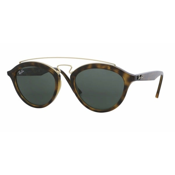 81b2b9bbe4c Shop Ray-Ban Women s RB4257 Gatsby II Tortoise Gold Frame Green ...