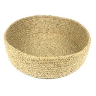 Handcrafted Jute Table Basket - Circular (Bangladesh )