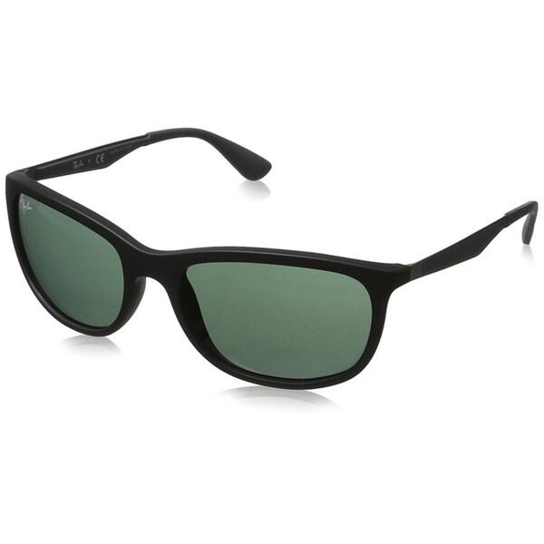 9d92e5a598 Shop Ray-Ban Men s RB4267 Black Grey Frame Green Classic 59mm Lens ...