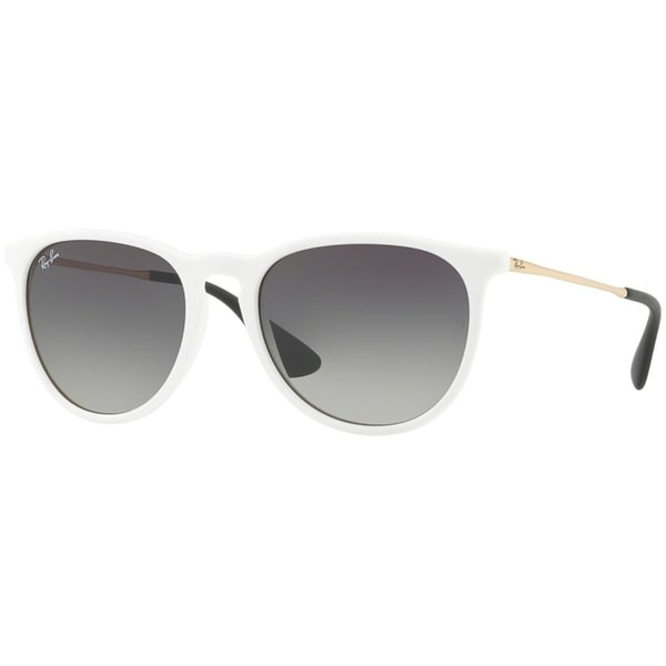 07bcd42f43235 Shop Ray-Ban Unisex RB4171 Erika Color Mix White Gold Frame Grey Gradient  54mm Lens Sunglasses - Free Shipping Today - Overstock.com - 17754370