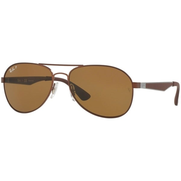 130782ac27d2c Ray-Ban Unisex RB3447 Round Metal Bronze-Copper Frame Green Gradient 50mm  Lens Sunglasses
