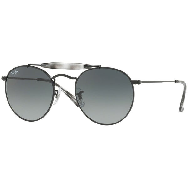 3de8f41c29 Shop Ray-Ban Unisex RB3747 Black Frame Grey Gradient 50mm Lens Sunglasses -  Free Shipping Today - Overstock - 17754404