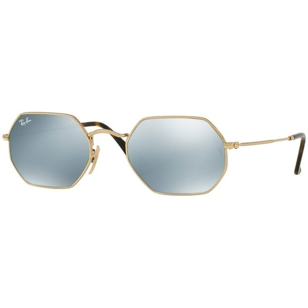 2bff122895 Ray-Ban Unisex RB344 Round Metal Bronze-Copper Frame Blue Brown Gradient  47mm