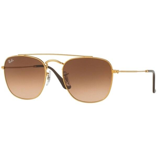 cdadc74a6e Shop Ray-Ban Men s RB3557 Bronze-Copper Frame Pink Brown Gradient ...
