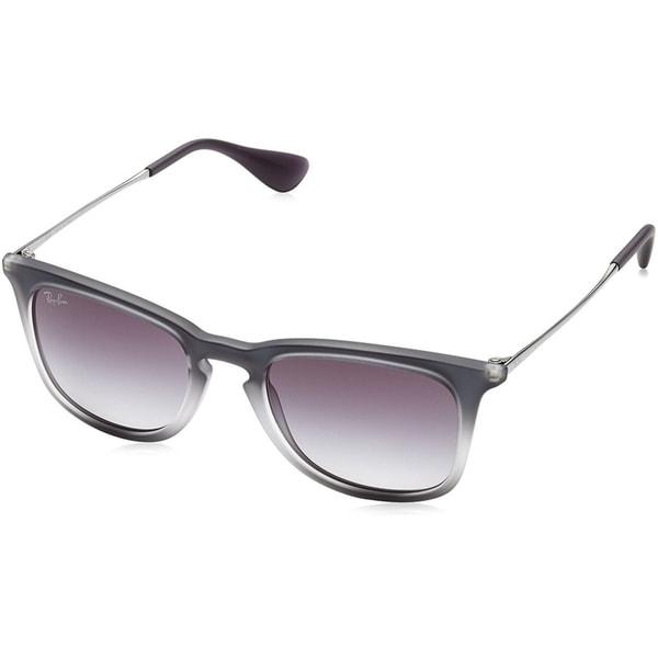 745ea023e8 Ray-Ban Unisex RB4221 Grey Gunmetal Frame Grey Gradient 50mm Lens Sunglasses