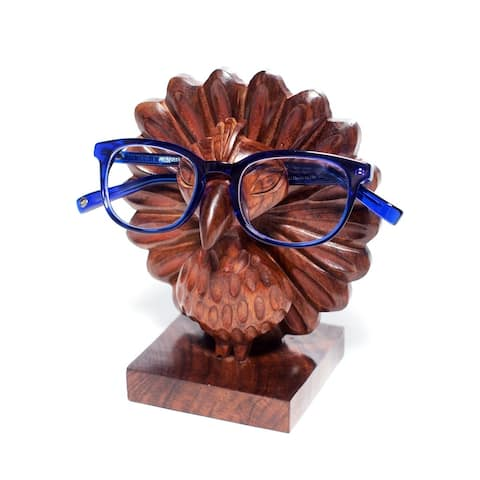 Handmade Peacock Eyeglass Holder (India)