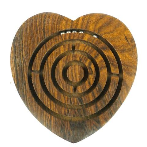 Handmade Heart Labyrinth (India)