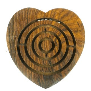 Handcrafted Heart Labyrinth (India)