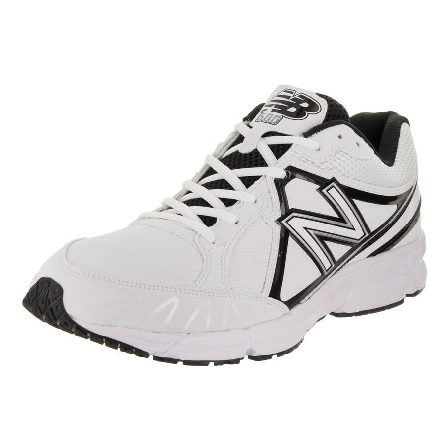 New Balance Men's T500 Low Turf Training Shoe (9.5), Whit...