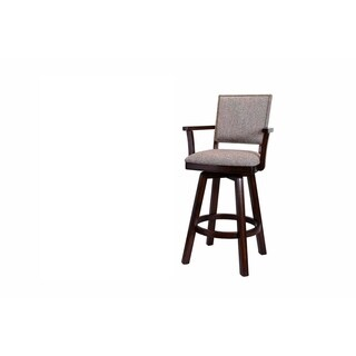 Whitaker Autumn Winds Set of 2 Counter Stools, Distressed Walnut