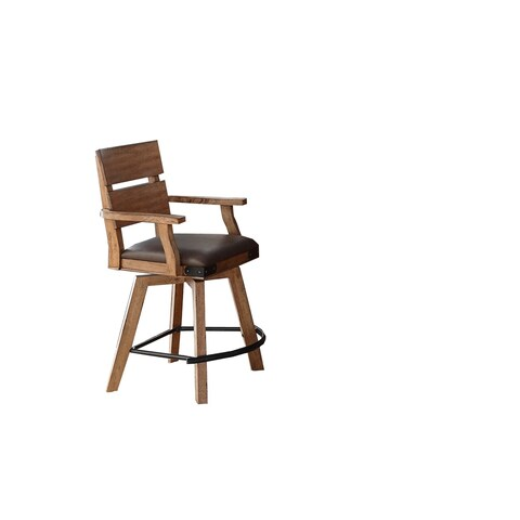"Whitaker Furniture Set of 2 Shenandoah 24"" Spectator Stools"