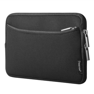 Insten Black Shockproof Sleeve Pouch Double Zipper Bag Protective Soft Case Cover for 7-inch 7-inch Notebook/ Laptop/ Tablet