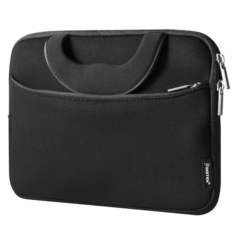 Insten Black Shockproof Sleeve Pouch Zipper Carry Bag Protective Soft Case Cover for 10-inch 10-inch Notebook/ Laptop/ Tablet