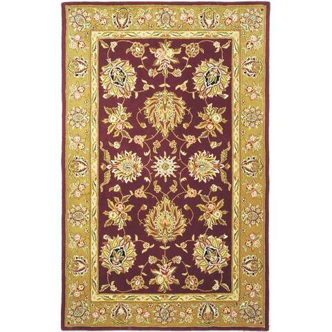 Safavieh Handmade Traditions Merja Traditional Oriental Wool Rug