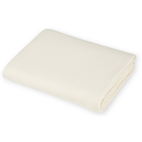 American Baby Company Value Jersey 100 Percent Cotton Knit Portable Ecru Crib Sheet (Pack of 2)