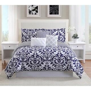 Studio 17 Anson 7-Piece Reversible Comforter Set