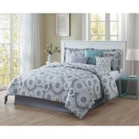 Studio 17 Splendid Reversible 7-Piece Comforter Set