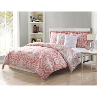 Studio 17 Dorian Blush 5-Piece Reversible Comforter Set