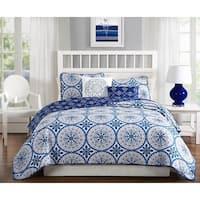 Quaint Home Darma 5-Piece Reversible Quilt Set
