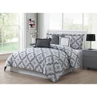Studio 17 Brussels Reversible 7-Piece Comforter Set