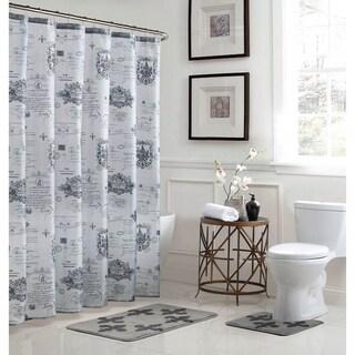 Fleur De Lis 15-Piece Bathroom Shower Set