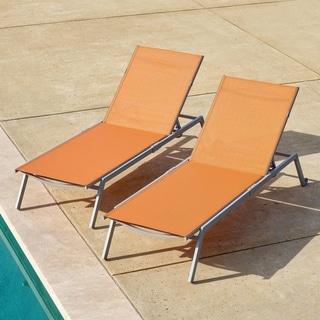 Amazing Corvus Torino Adjustable Sling Fabric Patio Chaise Lounge