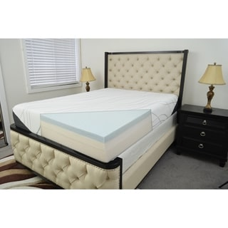 Breeze Eco-Friendly Gel Memory Foam with Rayon from Bamboo Cover Queen Mattress