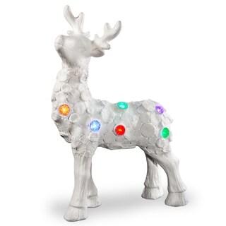 """25"""" Lighted Reindeer Décor Piece"""
