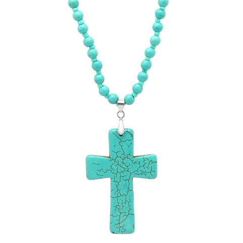 Piatella Ladies Genuine Turquoise Necklace in 2 Styles