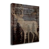 Rustic Deer By Piper Ballantyne,  Gallery Wrap Canvas - 20 x 20